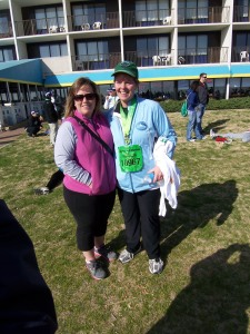 Kay and me after the race!